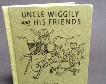 Vintage Uncle Wiggily and his Friends Book by Howard Garis - 1955