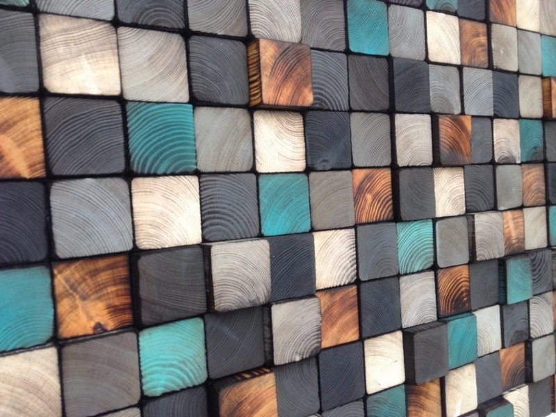 Wall Art Reclaimed Wood Sculpture