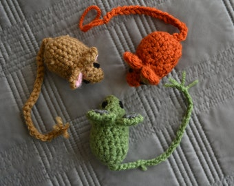 Catnip-Filled Toy Mouse (3-pack)