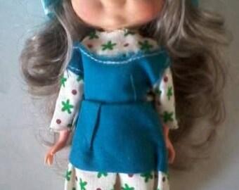 MISS PETTICOAT DOLL original 70 's Doll