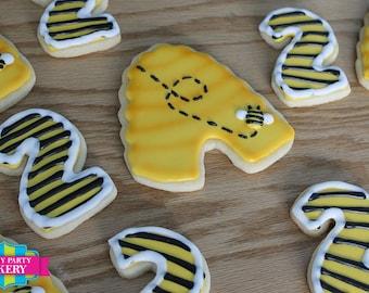 Bumble Bee Cookies - 1 Dozen