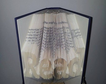 Read Folded Book Art **Pattern**  PDF Book Folding free instructions/ tutorial