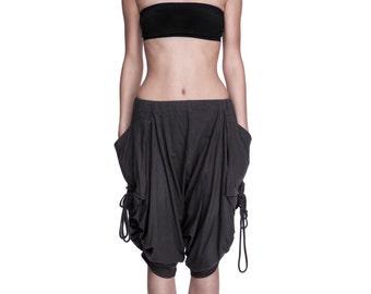 Over-Sized Drape Pants