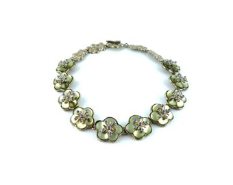 KENZO * Gorgeous vintage flower necklace