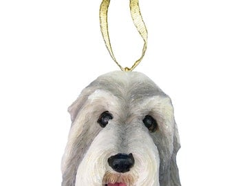 Bearded Collie Ornament With Personalized Name Plate A Great Gift For  Bearded Collie Lovers