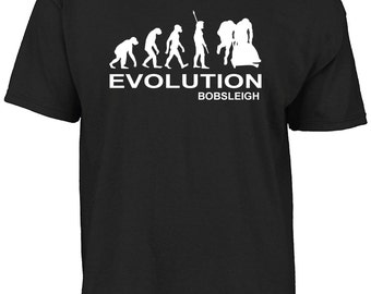 Evolution bobsleigh t-shirt
