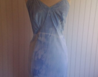 Dye4me Collection Hand Tie Dyed PLus Size Slip Dress,  Size  44 Bust #50343