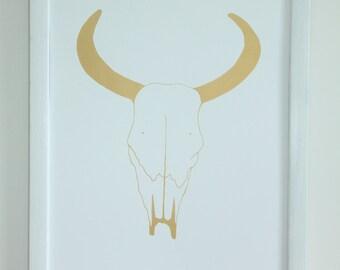 Sheep Skull Print