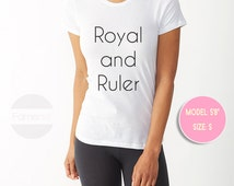 T shirt Royal and Ruler T shirt for Men and Women