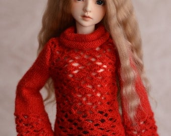 MSD BJD woolen sweater clothes knit