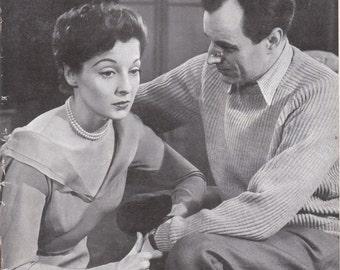 Vintage UK London Theatre World Magazine 1954