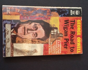 Vintage The Road to Wigan Pier George Orwell Paperback Berkley Medallion Books 1963