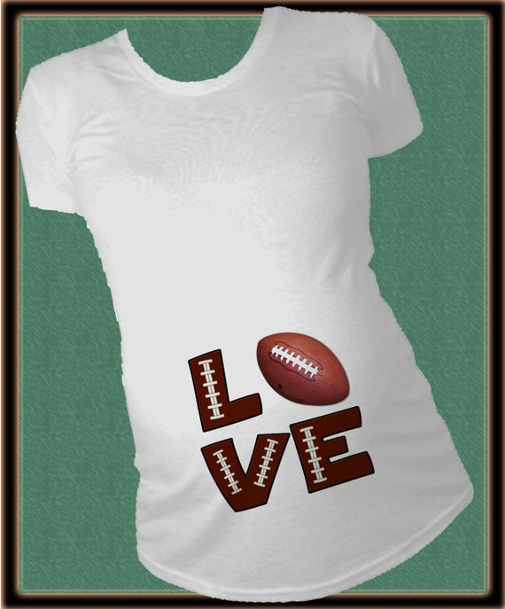 Maternity Football Heart Pregnancy Tshirt Cute Fall Sports Tee for Mom to Be. by Crazy Dog T-Shirts. $ - $ $ 15 $ 16 Product Features guaranteed! This is a maternity shirt designed to fit expecting Motherhood Maternity Women's 3/4 Sleeve Side Ruched Football Graphic Tee Shirt, by Motherhood Maternity.