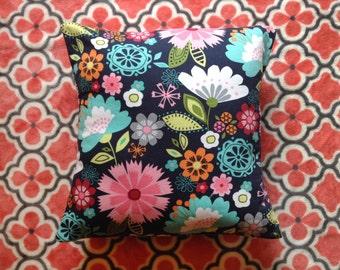 Flower Print 16X16 Pillow Cover