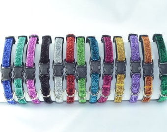 Sparkle - Bling - BreakAway Cat Collar - 13 colors