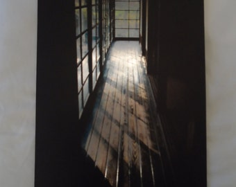 Metal Print, Shadows in the hall, 8x12