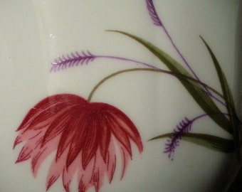 Mayfair Bone China (England) Cup with Pink Flower (#1052)