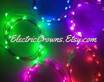5, Fairy Lights, Led lights, Led string lights, party decor, centerpieces, battery operated