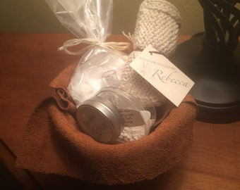 Single Serving Organic Spa Basket