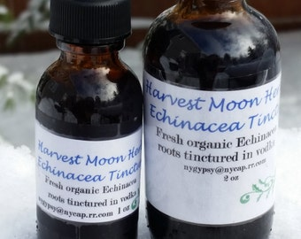 Echinacea Tincture ~Fresh Roots for Immune Support