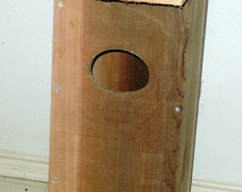 A Brand New Duck Box, Bird House - Free Shipping