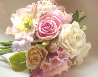 "Wedding Bouquet ""Harmony"" - Weddings Flower Bouquets - Bridal Bouquets - Bouquet of Flowers - Flower Bouquets"