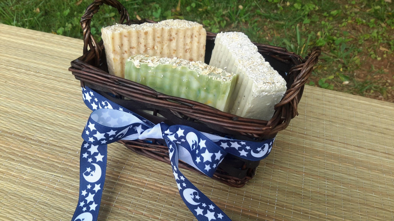 Handmade Soap Baskets : Handmade soap basket gift by georgiamadesoaps on etsy