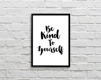 Items Similar To Instant Download Printable Be Kind To