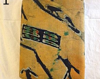 "Vintage Handmade Chinese Batik Fabric 4.4 yds (158"") long x 30.5"" wide"