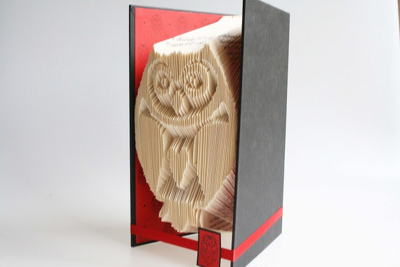 book folding pattern owl includes free printable downloads