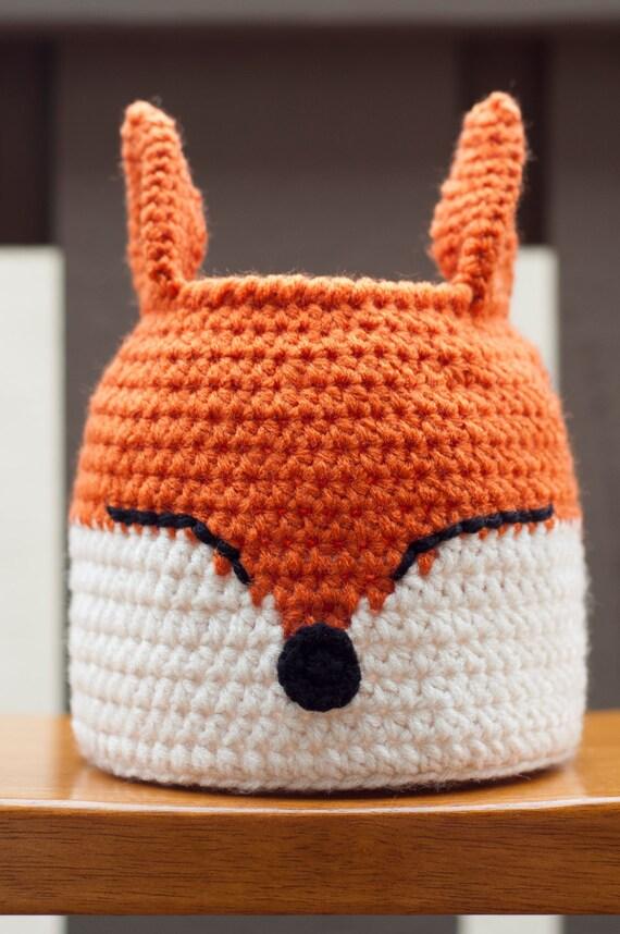 Free Crochet Pattern Fox Basket : Crochet Fox Basket