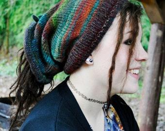 Jewel Shape-Shifter: Dread Beanie Hat Scarf