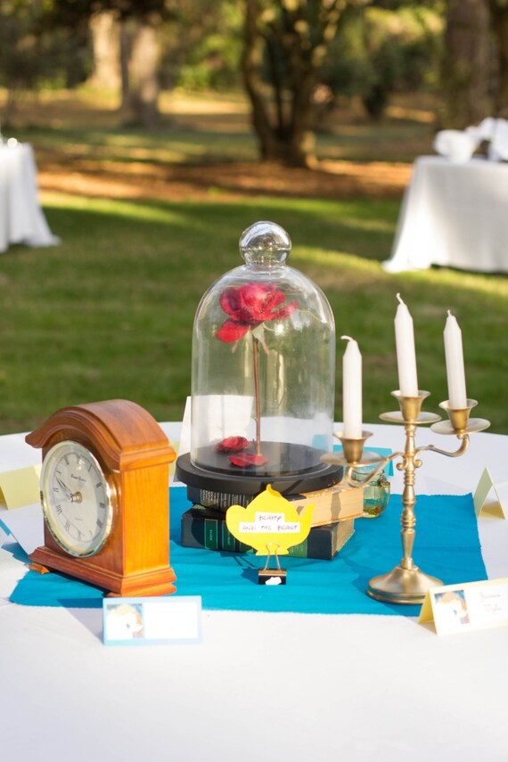 Beauty And The Beast Wedding Centerpiece By