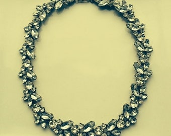 Crystal Bridesmaid Statement Necklace