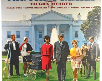 The First Family 1962 Comedy LP Bob Booker Earle Doud Vaughn Meader
