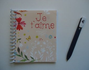Je t'aime Notebook