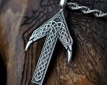 TIWAZ / TYR Rune Viking Amulet Pendant Nordic Talisman