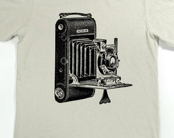 Men's Shirt - Camera T-shirt - Photography Tshirt - graphic t shirt