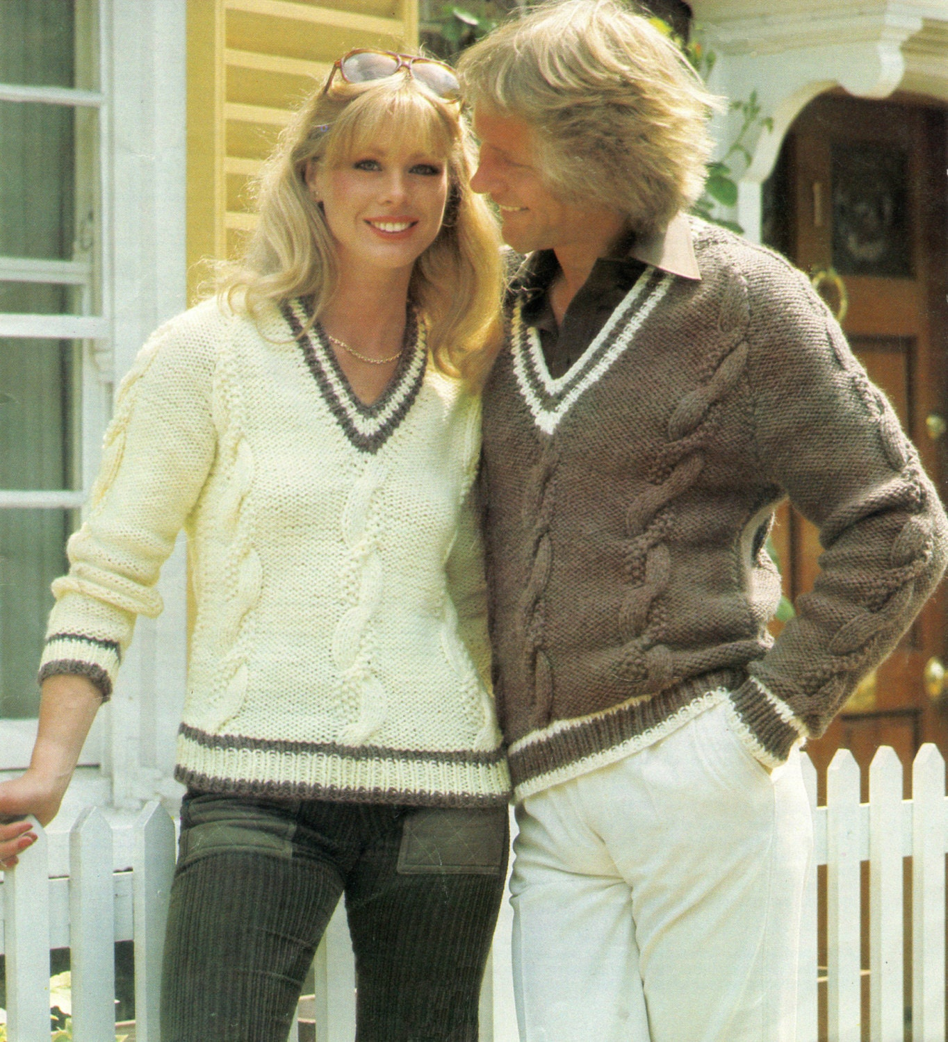 Chunky v neck sweater knitting pattern pdf zoom bankloansurffo Image collections