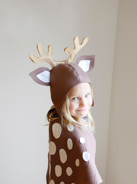 Girl Reindeer Costume Reindeer Pattern Diy Costume