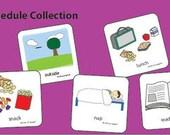 Preschool Class Schedule Picture Cards