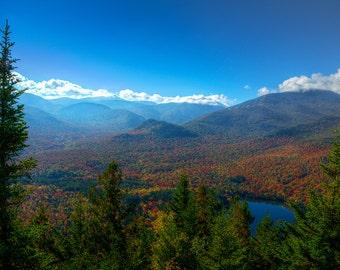 Landscape Photograph, Adirondack Mountains, Landscape Print, Adirondack Scenery, Adirondack Fine Art Print, Nature Print, Outdoor Art Print