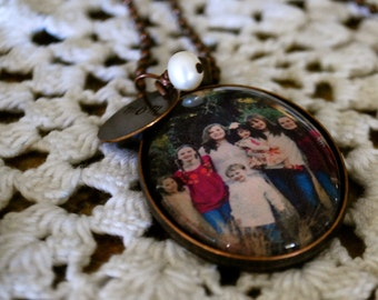 Heart Full {photo pendant necklace}
