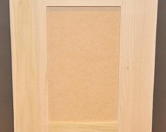 Shaker Style Door - Unfinished Paint Grade Cabinet Doors