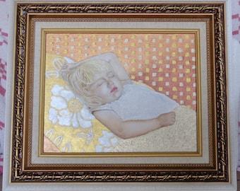 """8"""" x 10"""" Acrylic Portrait"""
