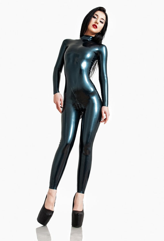 Latex Catsuit Standard Design Made to Meausre Skin-tight