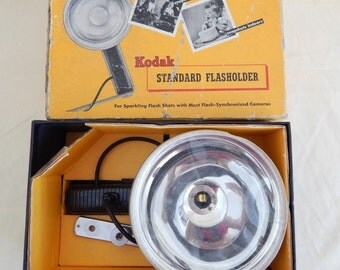Vintage Kodak Standard Flashholder with Original Box