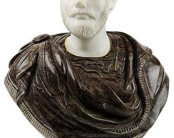 Marble Bust of Emperor Lucius Verus