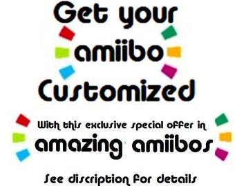 Get your Toys/Amiibo/Infinity/Skylander/Figure Customized!