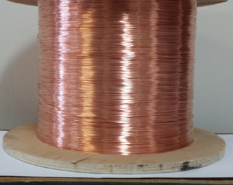 copper wire - 20 gauge copper wire - bare copper - 100 ft. spool